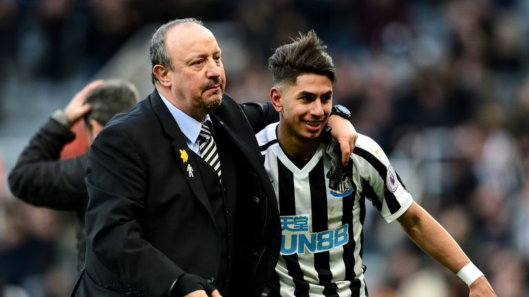 Rafael Benitez's current Newcastle contract comes to an end on June 30