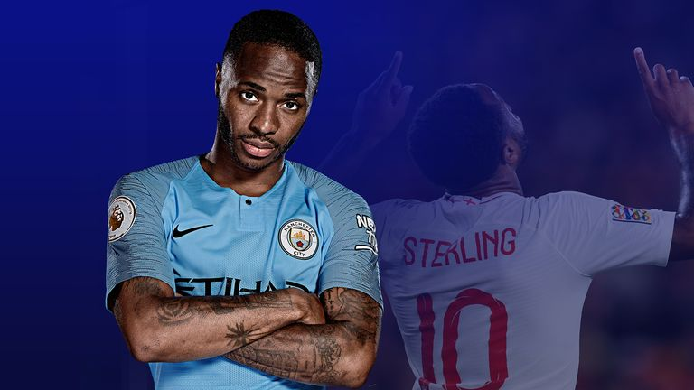 Raheem Sterling has had a memorable season for Manchester City