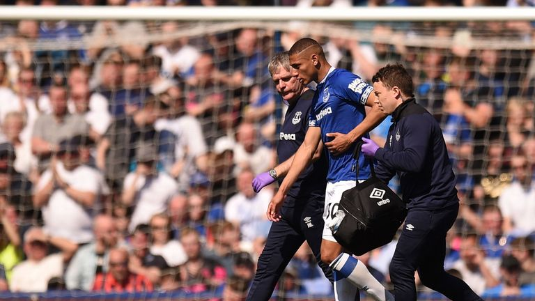 """Richarlison has been classed as a """"major"""" doubt for Everton's trip to Palace"""