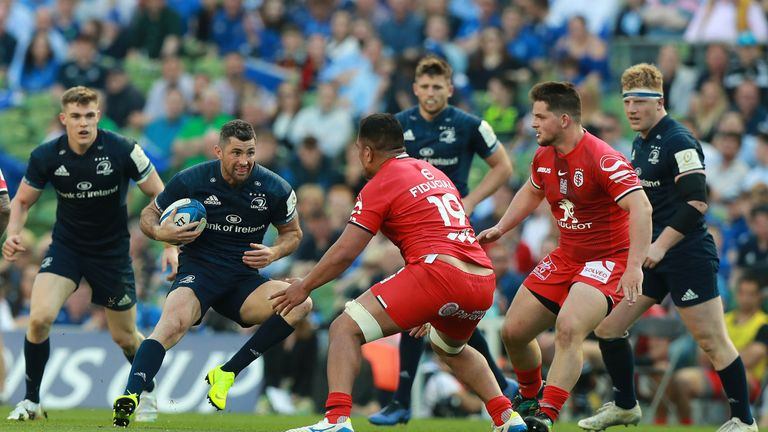 Leinster's Rob Kearney will provide Saracens with a stiff test next month