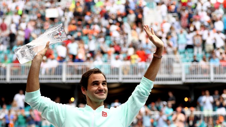 Roger Federer has time to chase down Jimmy Connors' all-time record of 109 career titles
