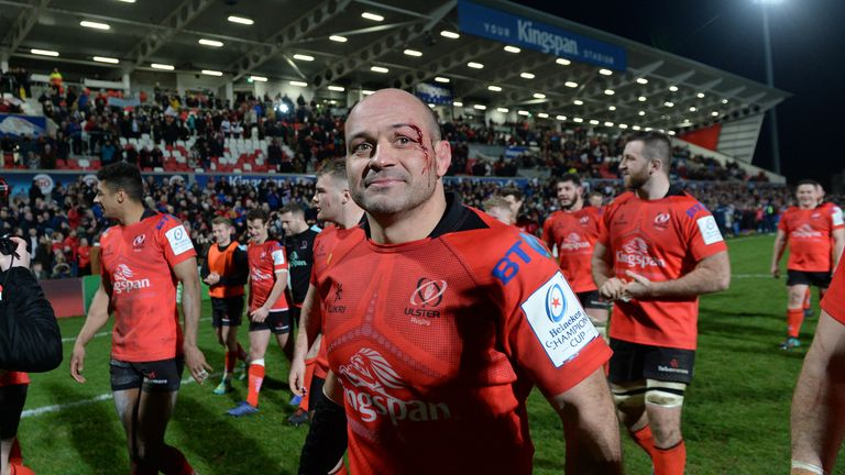 Best made his debut for Ulster in 2004 and has made over 200 appearances