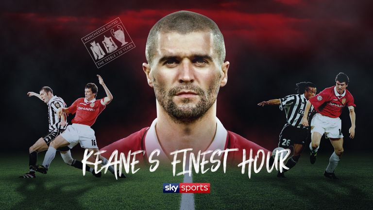 Roy Keane's finest hour came in his performance for Manchester United away to Juventus in 1999