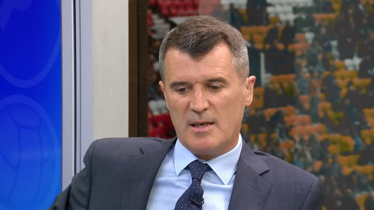 Roy Keane was highly critical of the Manchester United squad