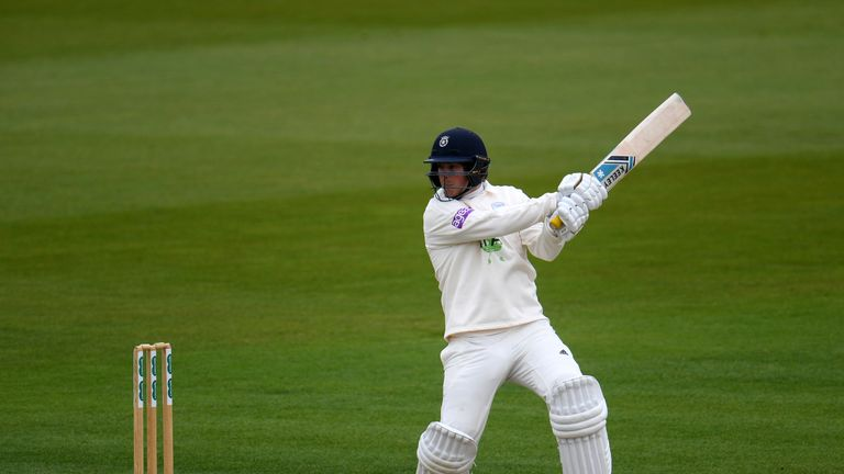 Sam Northeast hit a half century as Hampshire edged ahead of Yorkshire on day two
