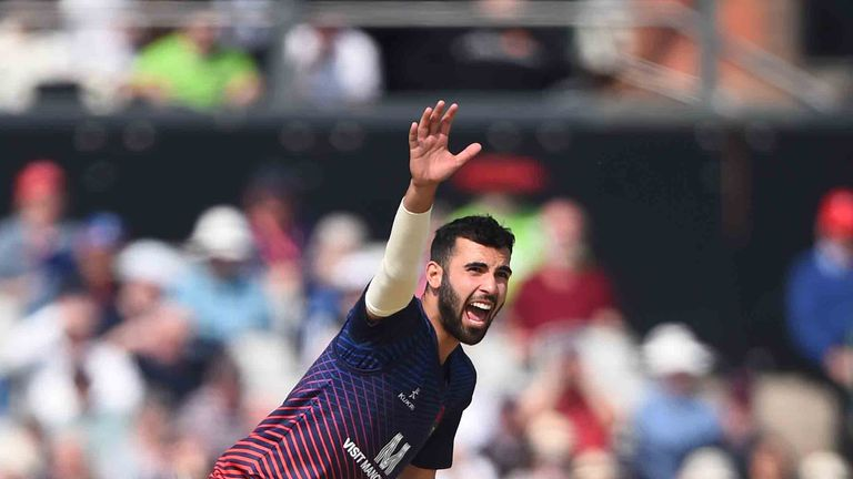 Lancashire's Saqib Mahmood has been called up to the England T20 and Test squads