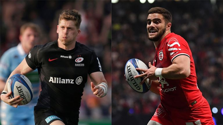 David Strettle and Lucas Tauzin are in Champions Cup semi-final action this weekend