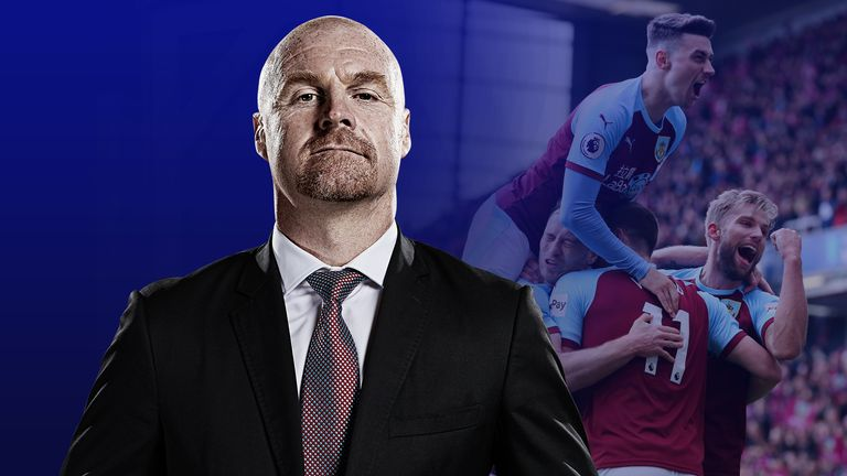 Sean Dyche has turned things around at Burnley since the turn of the year
