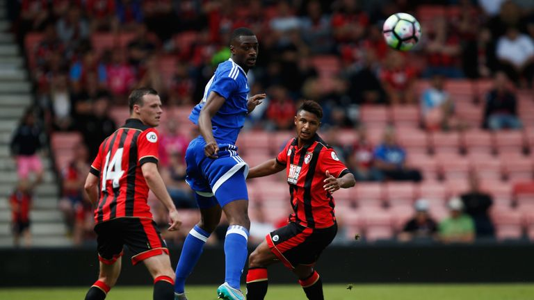 BOURNEMOUTH, ENGLAND - JULY 30:  during a pre-season match between Bournemouth and Cardiff City at Goldsands Stadium on July 30, 2016 in Bournemouth, England.  (Photo by Joel Ford/Getty Images)