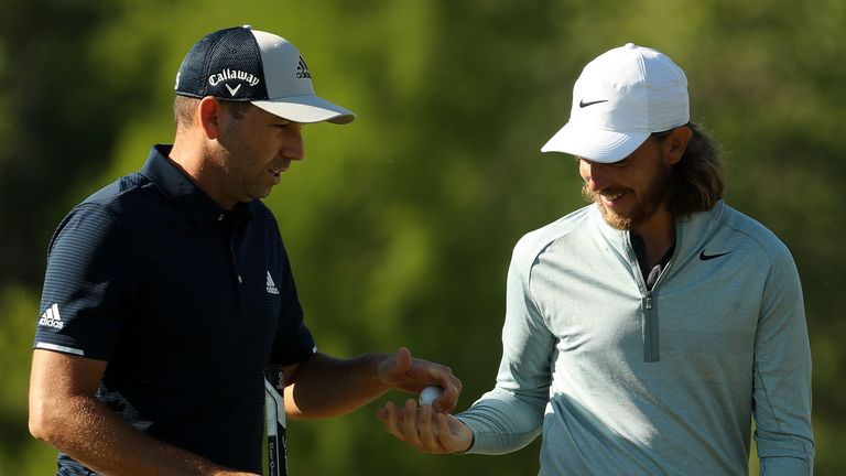 Sergio Garcia and Tommy Fleetwood, Zurich Classic of New Orleans