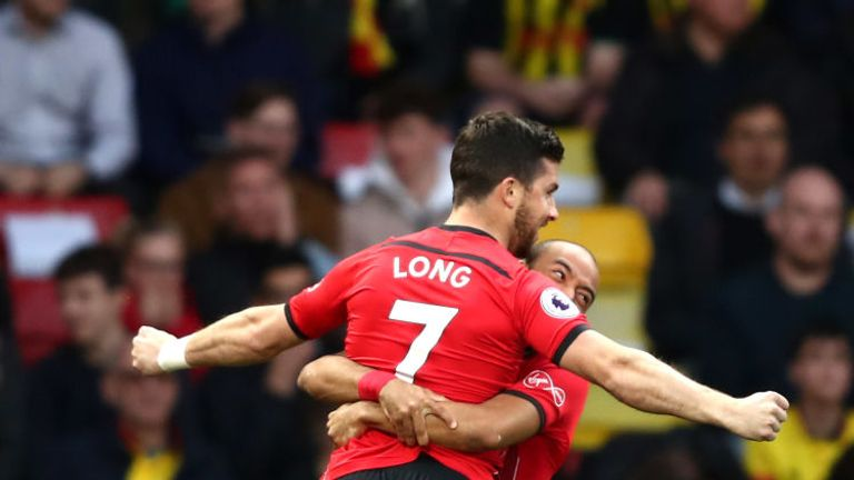 Shane Long scored after just eight seconds against Watford