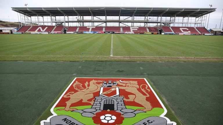 Northampton players 'racially abused' pre-match in