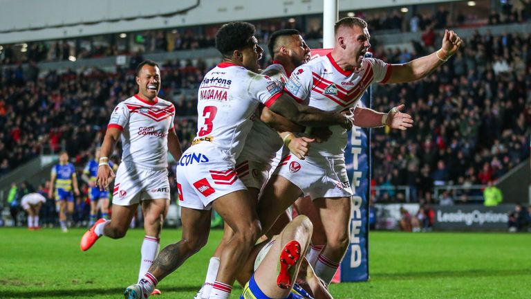 Rugby League talking points: St Helens dominate and Sneyd holds his nerve again | Rugby League News |