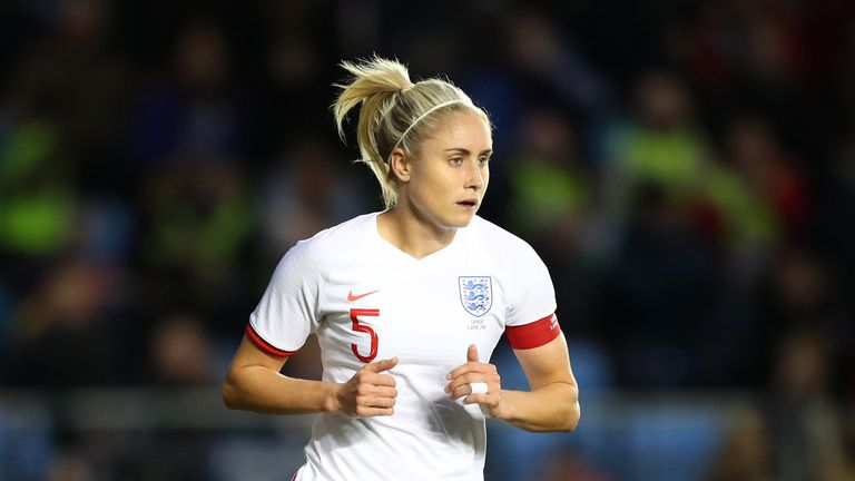 """Steph Houghton suffered """"mild groin pain"""" during England's 1-0 defeat to Canada."""