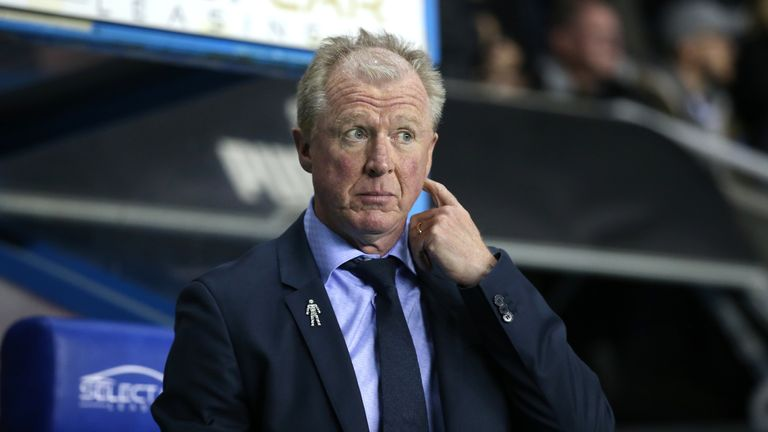 Queens Park Rangers manager Steve McClaren before the Sky Bet Championship match against Reading in October 2018