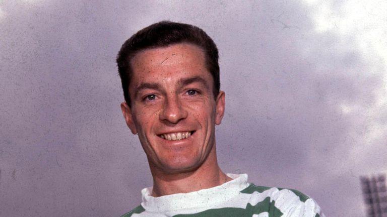 Celtic's 'Lisbon Lion' Stevie Chalmers