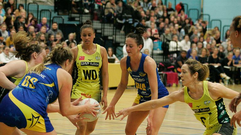Team Bath defeated Manchester Thunder for the second time this season