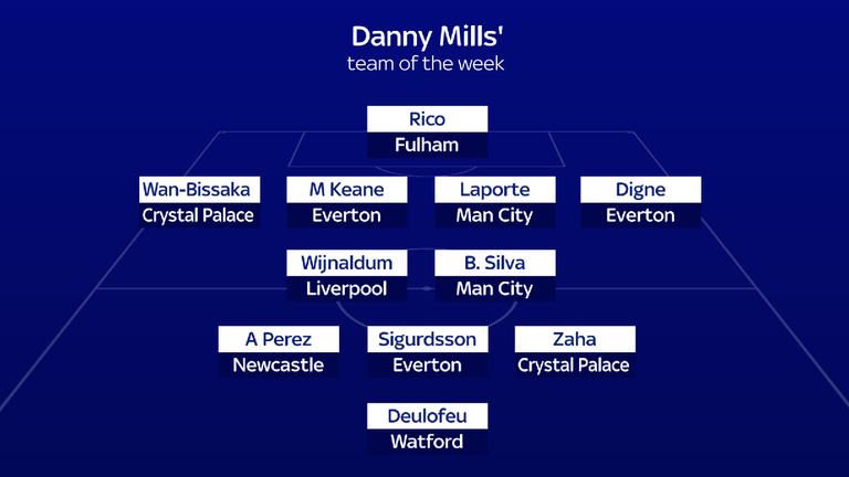 Danny Mills' team of the week