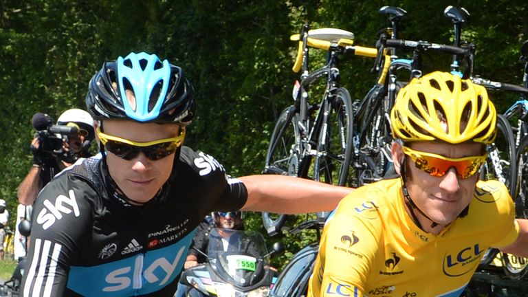 Chris Froome and Bradley Wiggins not easy to manage, says Sir Dave Brailsford
