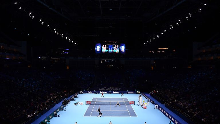 ATP Finals moving from London to Turin from 2021 to 2025