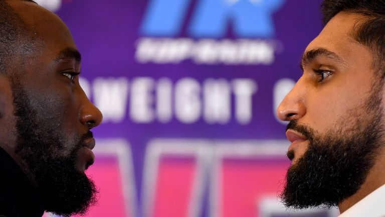 WBO welterweight champion Crawford defends his gold against Amir Khan next