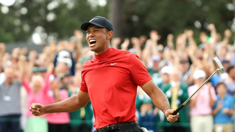 Brooks Koepka says the majority of people are golf fans because of Tiger Woods and is pleased by the impact of the former world No 1's triumph at the Masters on the sport.