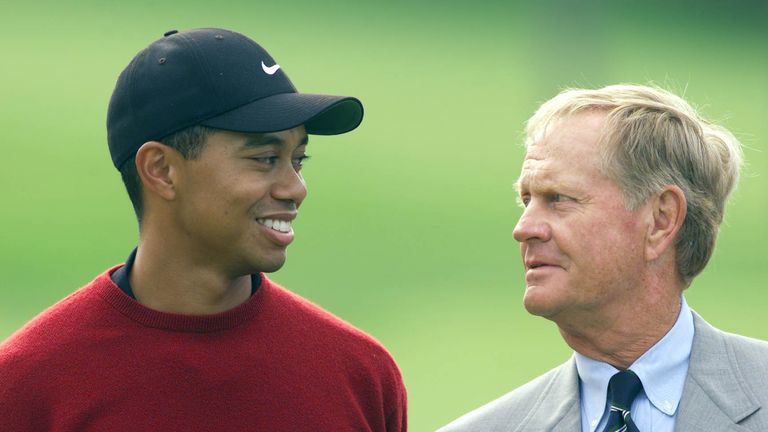Tiger Woods and Jack Nicklaus have 33 major championships between them