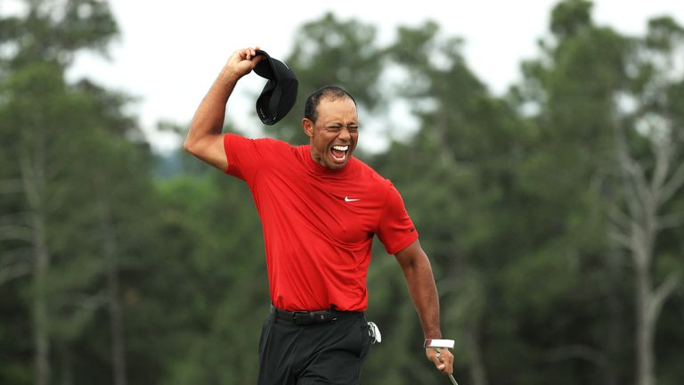 Woods' victory is his first major title since 2008