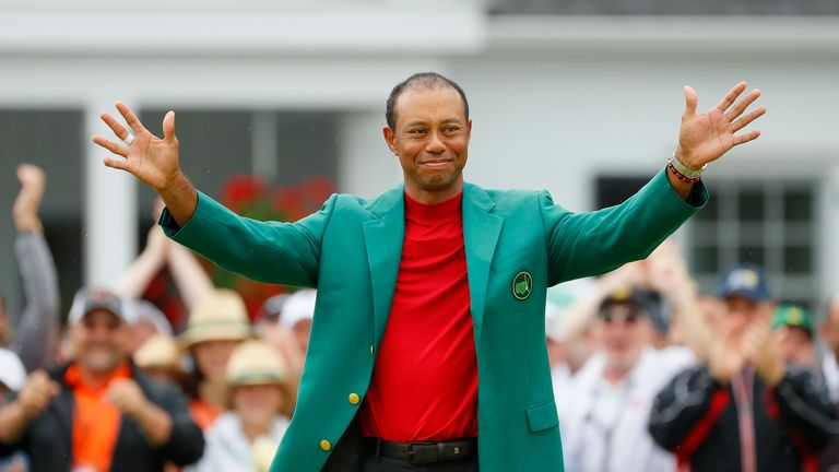 Tiger Woods won The Masters for a fifth time
