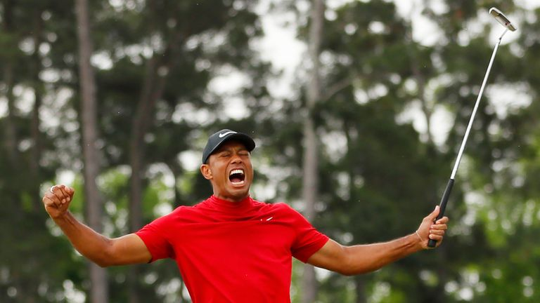 Woods' victory is his 15th major title
