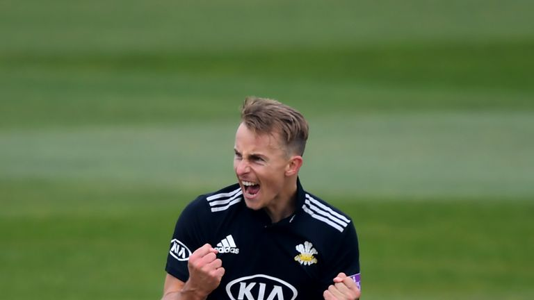 Tom Curran picked up his second three-wicket haul in three days