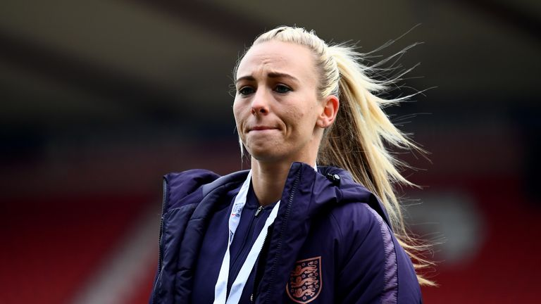 Toni Duggan may be rested for both of England Women's friendlies after playing for Barcelona in the Champions League final last week