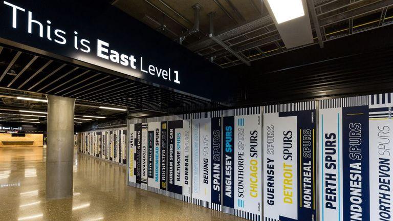 Inside Tottenham Hotspur's new stadium