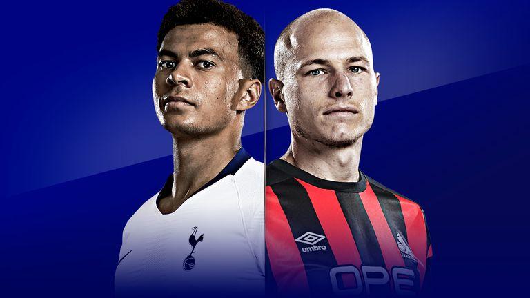 Tottenham host Huddersfield live on Sky Sports Premier League on Saturday
