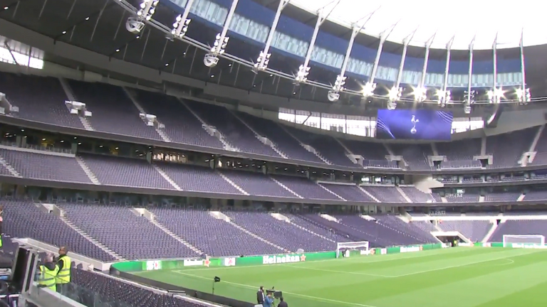 Tottenham's new stadium will host football, rugby union and NFL