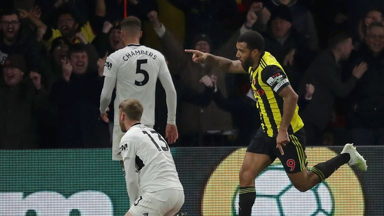 Troy Deeney strikes to make it 3-1 to Watford to sink Fulham