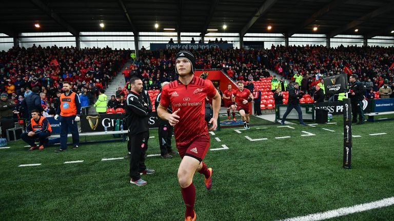 Bleyendaal named the 2016/17 Munster Rugby Player of the Year