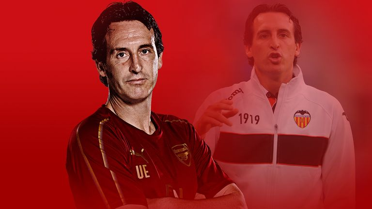 Unai Emery managed Valencia for four years from 2008 to 2012