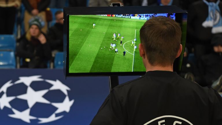 VAR was introduced in last season's Champions League knockout stages