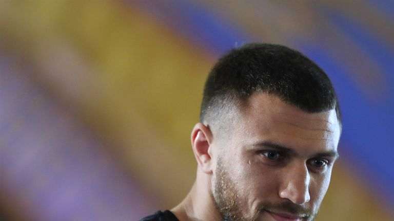 Vasyl Lomachenko defends world titles against Anthony Crolla, live on Sky Sports