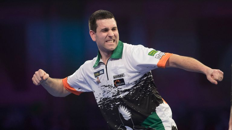 Ireland's William O'Connor won his first PDC title on Tuesday