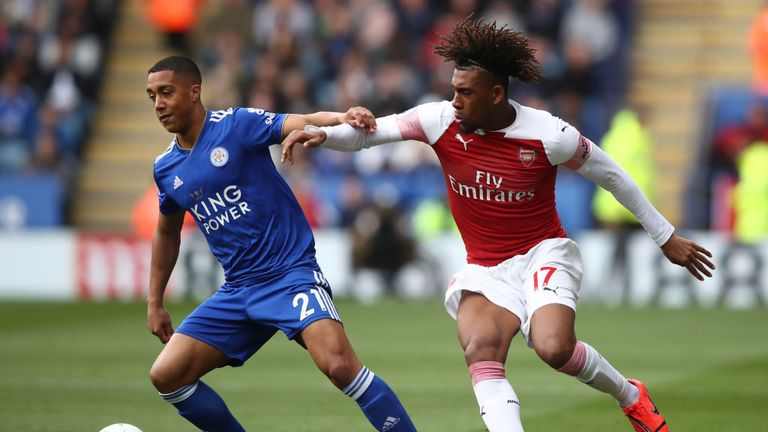 Youri Tielemans is on loan at Leicester from Monaco