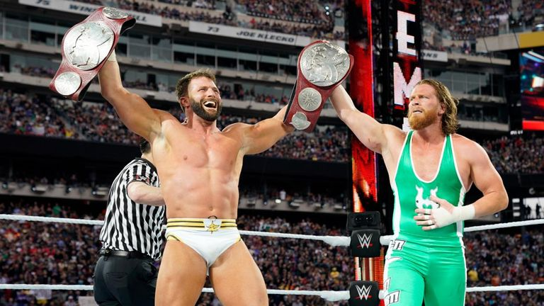 Several Raw tag teams will have Curt Hawkins and Zack Ryder's tag titles in their sights