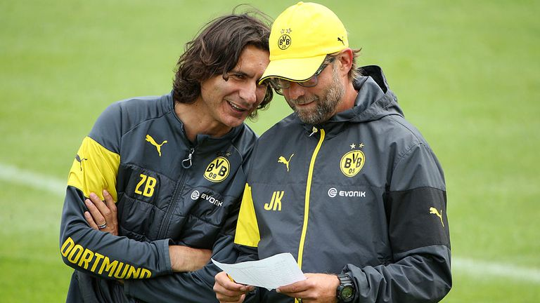 Buvac was Klopp's right-hand man at Mainz and Dortmund before moving to Liverpool