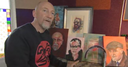 WATCH: Holloway's passion for art