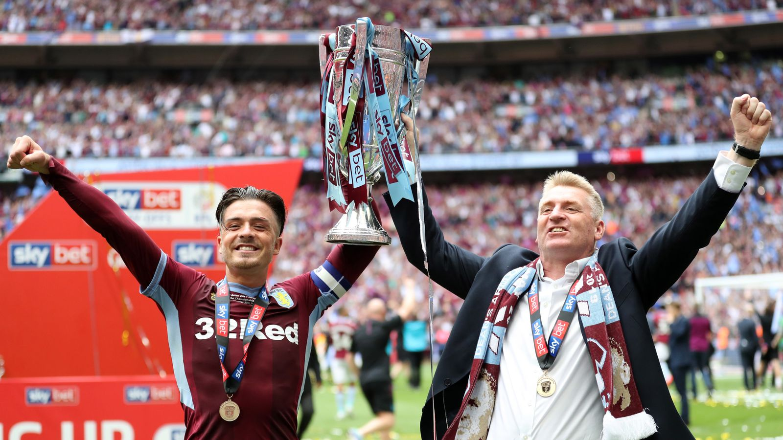Image result for dean smith jack grealish