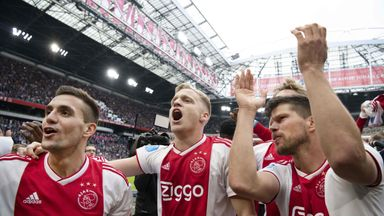 Ajax are on the brink of winning the title after beating Utrecht