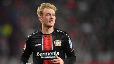 Julian Brandt scored seven goals in 33 Bundesliga appearances for Bayer Leverkusen in 2018/19