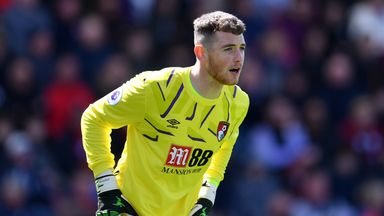 Mark Travers has played twice in the Premier League for Bournemouth