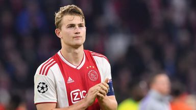 Ajax captain Matthijs de Ligt helped Ajax reach the Champions League semi-finals
